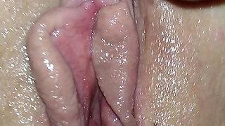 Home masturbation – solo young girl