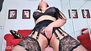 Riding hubby's face to my orgasmic pleasure (preview)