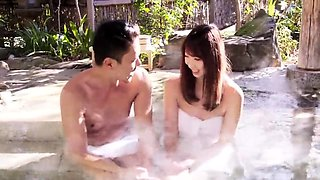 Asian Japanese Guy Seduces And Fucks Girl Spa Pool
