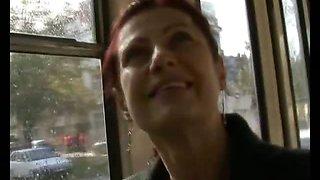 CZECH STREETS - MILF ALENA Sucks Dick for Cash