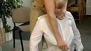 Fat Stewardess Fucked