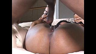 59 amazing black gangbang with black xxl cock