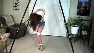 Redhead bdsm xxx gangbang two girls bondage