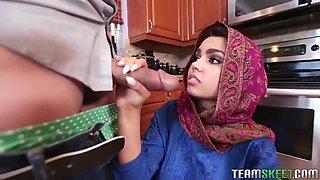 Ada Sanchez - Cream Filled Middle Eastern Cutie In Hd