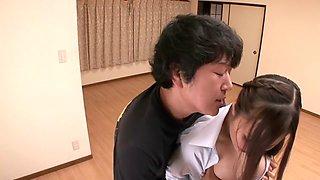 Ruri Saijou in Erotic Super Busty Woman part 4
