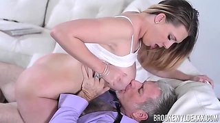 Brooke Wylde knows how to satisfy an old guy