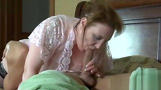 Russian Mom and Son 01