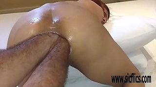 Extreme amateur double anal fisting