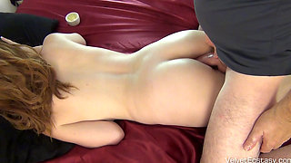 Beautiful Mary Jane Takes His Thick Cock In Cunt And Arse Licks His Arse & Pissed On