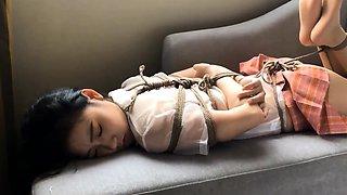 BDSM babe in fetish games
