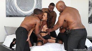 Hardcore Black Gangbang Video With Lisa Ann