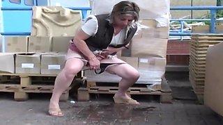 British girls pee part 5