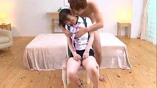 Harumi Asano Asian doll gets facial part2