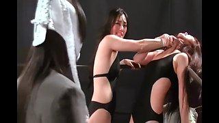 Beauty wrestling