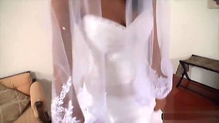 Wedding day fuck with my beautiful latina teen bride