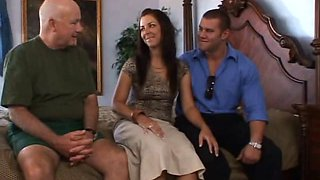 Cuckold husband loves to watch as his wife gets another dick